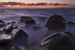 Ωκεάνιο Garie 02 στρώματα σκοταδιού Στοκ Φωτογραφία