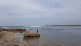 Ωκεανός ÙŽAtlantic στο Μαρόκο Στοκ φωτογραφία με δικαίωμα ελεύθερης χρήσης