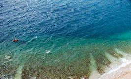 ωκεανός ανασκόπησης Στοκ Εικόνες