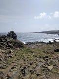 Ωκεανός από την ακτή Στοκ Εικόνες