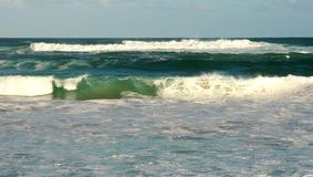 ωκεανός θυελλώδης Στοκ Φωτογραφία