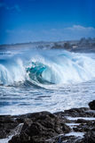 Ωκεανός ισχυρός Στοκ εικόνα με δικαίωμα ελεύθερης χρήσης