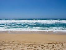 Ωκεανός και άμμος στην κρατική παραλία Montara Στοκ εικόνα με δικαίωμα ελεύθερης χρήσης