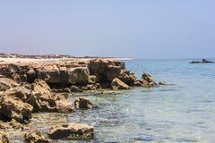 Ωκεανός και βράχοι Στοκ φωτογραφίες με δικαίωμα ελεύθερης χρήσης