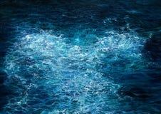 Ωκεανός και κύματα Στοκ εικόνες με δικαίωμα ελεύθερης χρήσης