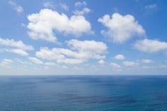 Ωκεανός και σύννεφα σε Cabo DA Roca Στοκ φωτογραφίες με δικαίωμα ελεύθερης χρήσης
