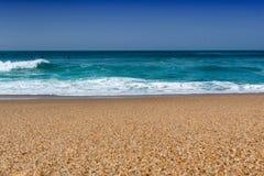 Ωκεανός κυμάτων της παραλίας Μπιαρίτζ Στοκ Φωτογραφία