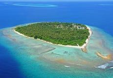 ωκεανός νησιών απομακρυσ στοκ φωτογραφία