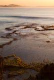 ωκεανός πέρα από την ανατολ Στοκ Εικόνες