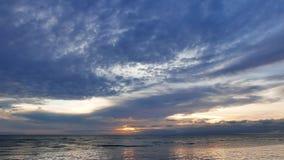 ωκεανός πέρα από την ανατολ απόθεμα βίντεο