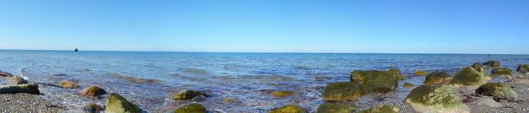 Ωκεανός πανοράματος νησιών Fehmarn Στοκ φωτογραφίες με δικαίωμα ελεύθερης χρήσης