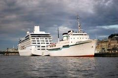 ωκεανός σκαφών της γραμμή&sigmaf Στοκ εικόνες με δικαίωμα ελεύθερης χρήσης