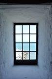 ωκεανός στο παράθυρο Στοκ Εικόνες
