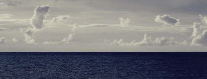 ωκεανός σύννεφων Στοκ εικόνες με δικαίωμα ελεύθερης χρήσης