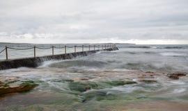 Ωκεανός φυσικός Στοκ εικόνα με δικαίωμα ελεύθερης χρήσης