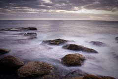 ωκεανός όρμων στοκ εικόνες με δικαίωμα ελεύθερης χρήσης