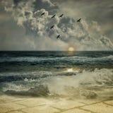 ωκεανός 01 Στοκ Εικόνες