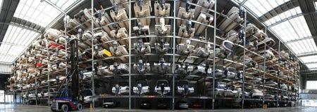 ΩΚΛΑΝΤ, ΝΕΑ ΖΗΛΑΝΔΊΑ - 14 ΙΟΥΝΊΟΥ 2012: Θαλάσσια δυνατότητα αποθήκευσης βαρκών Στοκ εικόνες με δικαίωμα ελεύθερης χρήσης