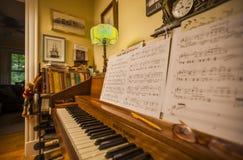 Δωμάτιο μουσικής Στοκ φωτογραφία με δικαίωμα ελεύθερης χρήσης
