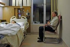 δωμάτιο νοσοκομείων Στοκ φωτογραφία με δικαίωμα ελεύθερης χρήσης