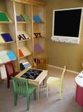 δωμάτιο χώρων για παιχνίδη π&a Στοκ Εικόνες