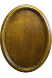 ωοειδής βερνιέρος ξύλινος Στοκ Εικόνες