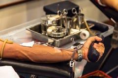 δωρεά αίματος ανασκόπησης ιατρική στοκ φωτογραφίες με δικαίωμα ελεύθερης χρήσης