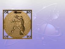 ωροσκόπιο Υδροχόου Στοκ φωτογραφία με δικαίωμα ελεύθερης χρήσης