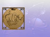 ωροσκόπιο taurus Στοκ εικόνες με δικαίωμα ελεύθερης χρήσης