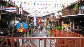 Ωχρό χωριό αγορών Plearn στη Hua Hin Στοκ φωτογραφία με δικαίωμα ελεύθερης χρήσης
