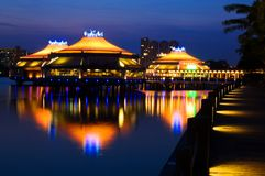 όαση Σινγκαπούρη Στοκ Φωτογραφίες