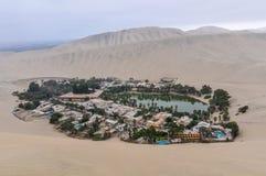 Όαση στην έρημο Huacachina, Περού Στοκ φωτογραφία με δικαίωμα ελεύθερης χρήσης