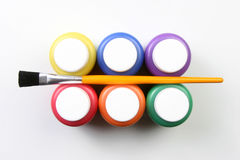 όλα τα καλλιτεχνικά κατσίκια εκφράσεων χρωμάτων στοκ εικόνες