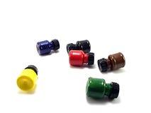 όλα τα μπουκάλια πέρα από το χρώμα Στοκ Φωτογραφία