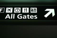 όλες οι πύλες Στοκ εικόνες με δικαίωμα ελεύθερης χρήσης