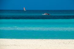Όλες οι σκιές του μπλε στην Κούβα Στοκ Εικόνες