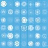 όλες snowflakes οι προτιμήσεις Στοκ εικόνα με δικαίωμα ελεύθερης χρήσης