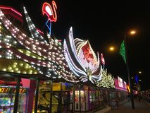 Όλη η διασκέδαση της παραλίας arcade Στοκ Εικόνα