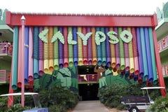 Όλη η είσοδος Calypso της Disney αστεριών Στοκ Εικόνα