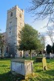 Όλη η εκκλησία Αγίων σε Fulham, το πάρκο επισκόπων, το δήμο Hammersmith και Fulham, Λονδίνο, UK Στοκ εικόνες με δικαίωμα ελεύθερης χρήσης