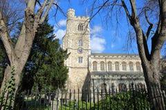 Όλη η εκκλησία Αγίων σε Fulham, το πάρκο επισκόπων, το δήμο Hammersmith και Fulham, Λονδίνο, UK Στοκ Φωτογραφία