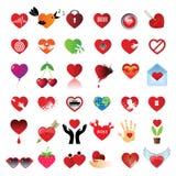όλη η καρδιά διανυσματική απεικόνιση