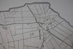 όλη η πόλη αλλαγής ανασκόπησης χρωματίζει τα εύκολα στρώματα αρχείων στοιχείων χαρτογραφεί το άνευ ραφής επίλεκτο χωρισμένο swatc Στοκ Εικόνες