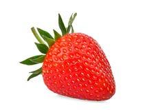 Όλη κόκκινη φράουλα που απομονώνεται στο λευκό Στοκ φωτογραφίες με δικαίωμα ελεύθερης χρήσης
