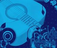 όλοι γύρω από τη μουσική Στοκ εικόνες με δικαίωμα ελεύθερης χρήσης