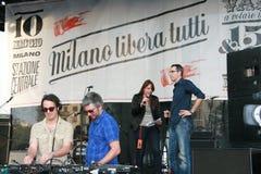 όλοι μαζί του Μιλάνου maggio libera 10 201 Στοκ φωτογραφία με δικαίωμα ελεύθερης χρήσης