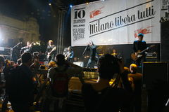 όλοι μαζί του Μιλάνου maggio libera 10 201 Στοκ Εικόνες