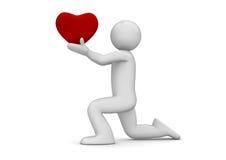 όλοι σας δίνουν την αγάπη ι  Στοκ Εικόνες