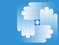 όλος ο κόσμος χεριών σας Στοκ φωτογραφία με δικαίωμα ελεύθερης χρήσης