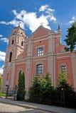 όλο το vilnius Αγίων εκκλησιών στοκ εικόνες